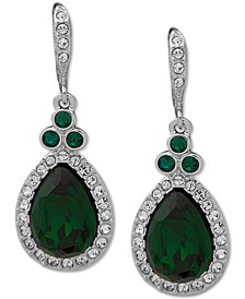 Pavé Pear Drop Earrings