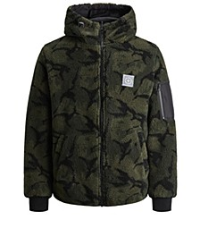 Men's Faux Sherpa Jacket