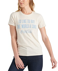 Buy The World A Coke Graphic T-Shirt
