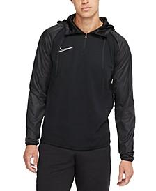 Men's Academy Repel Dri-FIT Quarter-Zip Soccer Hoodie