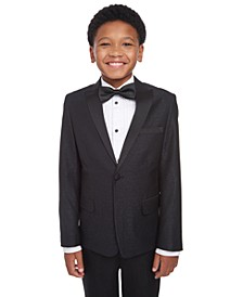 Big Boys Slim-Fit Marble Jacquard Blazer
