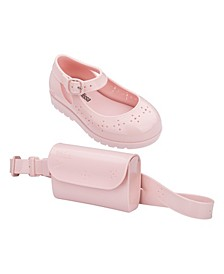 Toddler and Little Girls Com Pochete BB Shoe