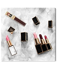 "Classic Lipsticks Canvas Art - 36"" x 36"" x 1.5"""