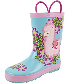 Toddler and Little Girls Rain Boot