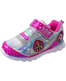 L.O.L Surprise Little Girls Light Up Athletic Sneaker