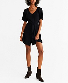 Short Buttoned Dress