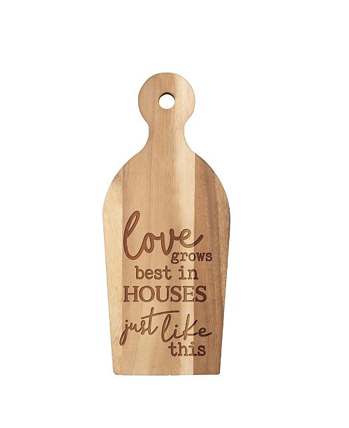 P Graham Dunn Love Grows Best In Houses Just Like This Wall Art