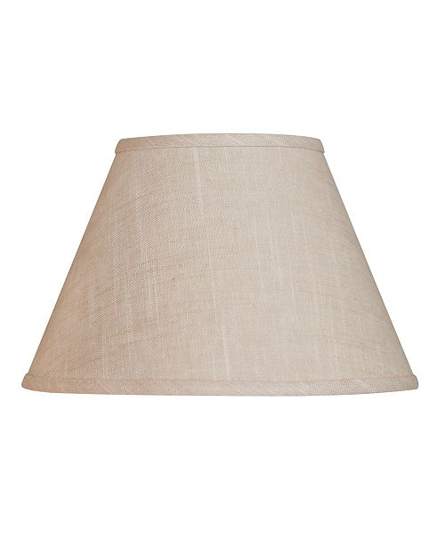 Cloth&Wire Slant Empire Hardback Lampshade with Washer Fitter