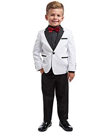 Toddler Boys 4-Pc. Suit Set