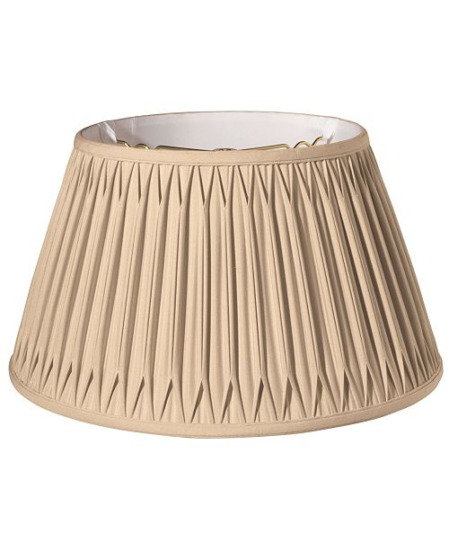 Cloth&Wire Slant Shallow Drum with Double Smocked Pleat Softback Lampshade Collection