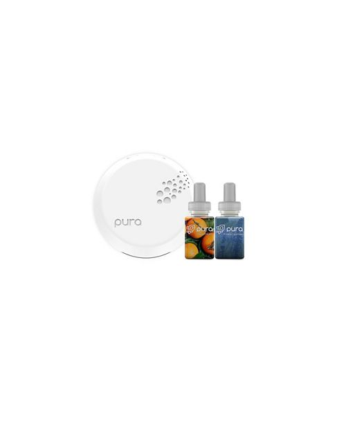 Pura Smart Home Fragrance Diffuser with Yuzu Citron & Simply Lavender Fragrances