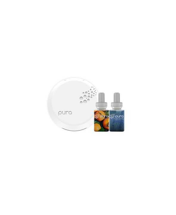 Pura Smart Home Fragrance Diffuser with Yuzu Citron & Simply Lavender Fragrances