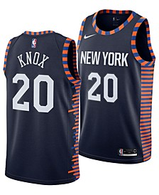 Men's Kevin Knox New York Knicks City Swingman Jersey