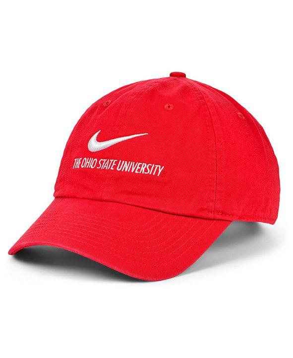 Nike Ohio State Buckeyes Team Local H86 Cap