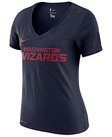Women's Washington Wizards Dri-Fit V-neck T-Shirt