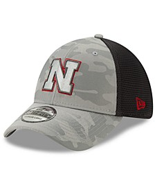 Nebraska Cornhuskers Gray Camo Neo 39THIRTY Cap