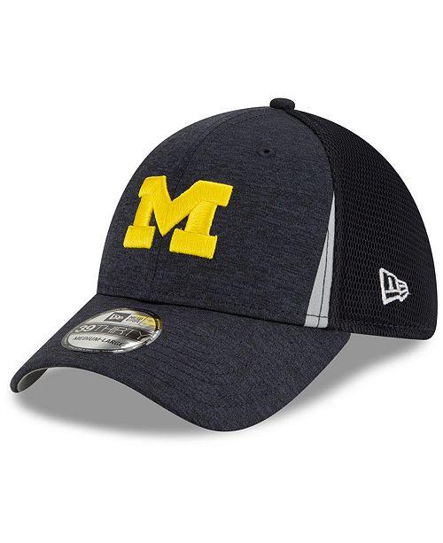 New Era Michigan Wolverines Slice Team 39THIRTY Cap