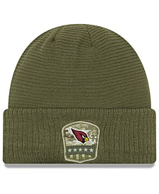 Arizona Cardinals On-Field Salute To Service Cuff Knit Hat
