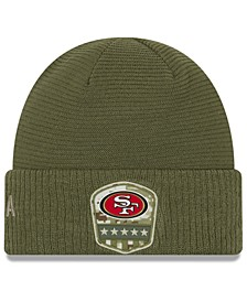 San Francisco 49ers On-Field Salute To Service Cuff Knit Hat