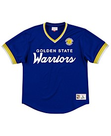 Men's Golden State Warriors Special Script Mesh V-neck Jersey