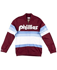 Men's Philadelphia Phillies Authentic Sweater Jacket