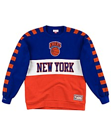 Men's New York Knicks Leading Scorer Crew Sweatshirt
