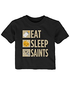 Baby New Orleans Saints Daily Agenda T-Shirt