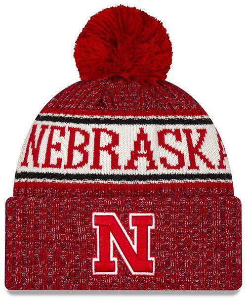 New Era Nebraska Cornhuskers Sport Knit Hat