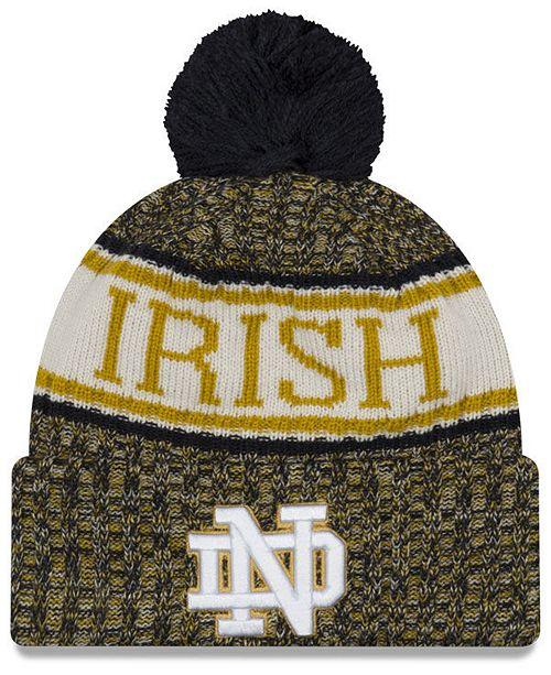 New Era Notre Dame Fighting Irish Sport Knit Hat