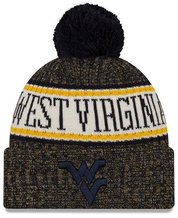 New Era West Virginia Mountaineers Sport Knit Hat