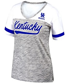 Women's Kentucky Wildcats Tiebreaker Colorblock T-Shirt