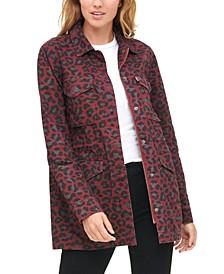 Women's Leopard Print Jacket