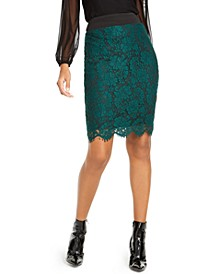 Lace Pencil Skirt, Created for Macy's