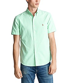 Men's Classic Fit Gingham Oxford Shirt