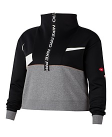 Plus Size Pro Dri-FIT Fleece Top