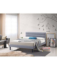 Brisbane King-Size Panel Platform Bed