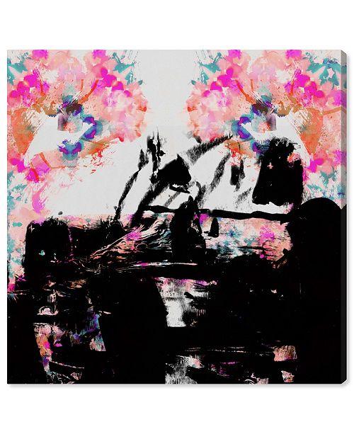 "Oliver Gal Zaza Canvas Art, 16"" x 16"""