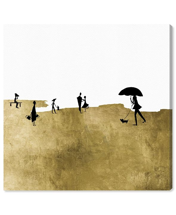 """Oliver Gal On A Windy Day Canvas Art, 43"""" x 43"""""""