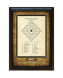 World's First Crossword Puzzle