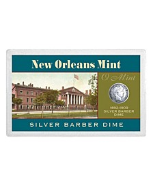 New Orleans Mint Silver Barber Dime Over 100-Years Old