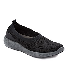 Leila Slip-On Stretch Knit Shoes