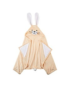 CLOSEOUT! Bunny Hooded Throw