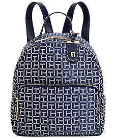 Julia Logo Jacquard Dome Backpack, Created for Macy's