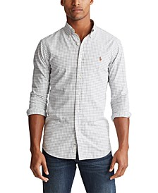 폴로 랄프로렌 Polo Ralph Lauren Mens Classic Fit Gingham Oxford Shirt