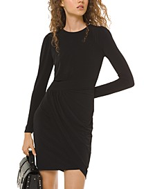 Ruched Sheath Dress, Regular & Petite Sizes