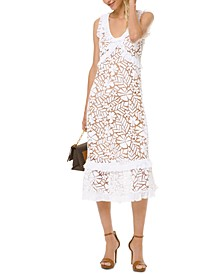 Lace Empire-Waist Dress