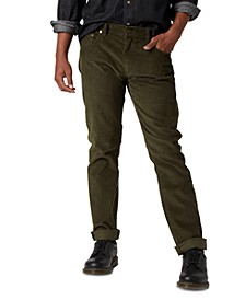 Men's Slim Tapered Corduroy Pants