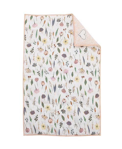 ED Ellen Degeneres Painterly Floral Comforter
