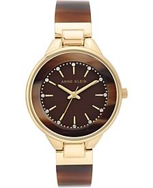 Women's Brown Bangle Bracelet Watch 36mm