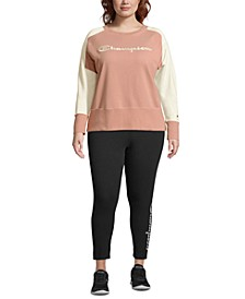 Plus Size Heritage Herringbone Sweatshirt